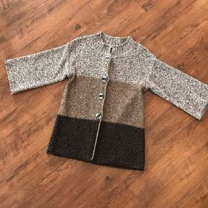 Dress Barm Women's Sweater Size S Button Up Gift